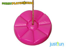 DAISY DISC SWING SEAT PINK Set Playground Accessories With Free Rope