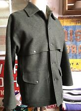 FILSON Double Mackinaw Cruiser Men's coat 100% WOOL Forest Green Jacket