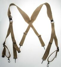 WWII US army M1936 outdoor strap skidproof shoulder with hook for tactical bag