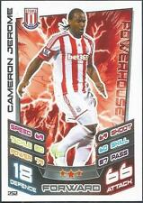 TOPPS MATCH ATTAX 2012-13- #252-STOKE CITY-CAMERON JEROME