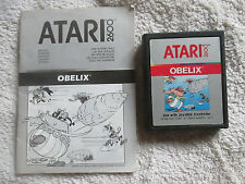 OBELIX - CART & MANUAL - ATARI 2600 GAME - 7800