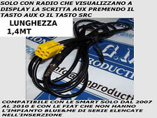 CAVO SOLO AUDIO MP3 AUX iPod IPHONE SB05 Grande Punto Panda Musa Alfa 159 1,4MT