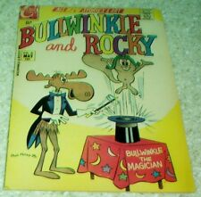 Bullwinkle and Rocky 6, NM- (9.2) 1971 Charlton, SOLID HIGH GRADE COPY!