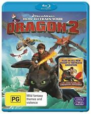How to Train your Dragon 2 Blu-ray Disc NEW