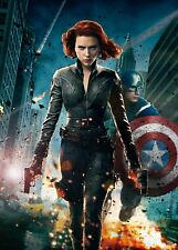 The Avengers (Black Widow) - Scarlett Johansson Promo Poster 24x36 v2 NEW