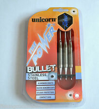 UNICORN THE POWER BULLET STAINLESS STEEL SOFT TIP DARTS SET 18g