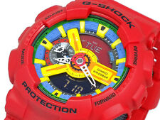 CASIO G-Shock GA110FC-1A GA-110FC-1A Crazy Colors RED Ana-Digi XLarge