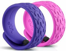 CHIL Slap Stylus Fashion Bracelet 2 Pack Violet and Pink Touch Screen Pen