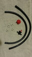 1/4 inch Fuel, Gas Line With Fuel Filter and Shut off Valve Snowblower Fuel Line
