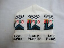 VINTAGE 1980 LAKE PLACID WINTER OLYMPICS SKI HAT EUC