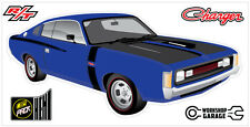 New! Collectable Chrysler VH Valiant Charger R/T - PURPLE