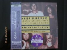DEEP PURPLE gemini suite live JAPAN MINI LP CD RITCHIE BLACKMORE ROGER GLOVER