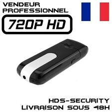 CLE USB CAMERA ESPION HD 720P DETECTEUR DE MOUVEMENT 32 GO MAX 1280x720