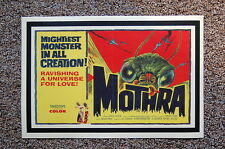 Mothra Lobby Card Movie Poster The Mightiest Monster in all Creation