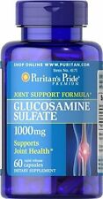 Puritan's  Glucosamine Sulfate 1000 mg, 60 Capsules Supports Joint Health 05/18