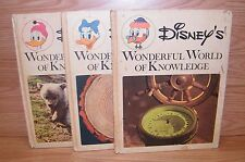 Vintage Disney's Wonderful World of Knowledge (Hardcover Children's Books)