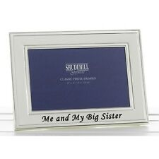 Me and My Big Sister New Baby Photo Frame Gift