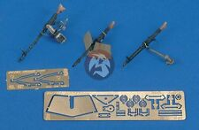 Royal Model 1/35 MG 34 - MG 42 Machine Gun Set German AFVs WWII (3 pieces) 497