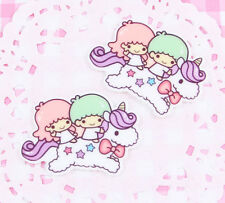 5 x Cute Angels on a Unicorn Cabochon Embellishments Kawaii DIY Craft Decoden