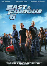 Fast & Furious 6 (DVD, 2013)  w/Slipcover  The Rock  Paul Walker Vin Diesel  NEW