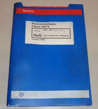 Werkstatthandbuch VW Passat B5 4 Zylinder Dieselmotor / Mechanik Stand Okt. 1996