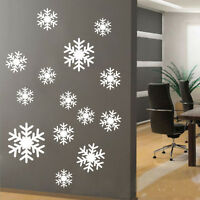 Snowflake Wall Window Stickers Decal Removable Vinyl Art Christmas Decoration