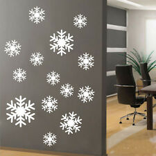 Snowflakes Mural wall window vinyl decal sticker holiday Christmas Decor