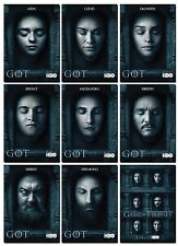 GAME OF THRONES Season 6 HALL OF FACES GoT- 9 Card Promo Set  Daenerys Sansa