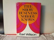 THE SHOW BUSINESS NOBODY KNOWS by Earl Wilson (Broadway, Marilyn Monroe, Hughes)