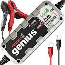 NOCO Genius G7200UK 12V/24V 7.2A Smart Battery Charger (UK plug)