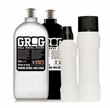 GROG INK - CHROME + BLACK PACK WITH SQUEEZER MARKERS