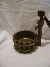 Vintage Wooden Wishing Water Well Nut Bowl ~ RARE!!