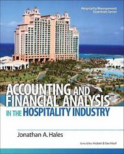 ACCOUNTING AND FINANCIAL ANALYSIS IN THE HOSPITALITY - NEW PAPERBACK BOOK