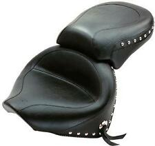 Yamaha V-Star 1100 Classic/Silverado-Mustang WIDE two-piece studded 2-piece seat