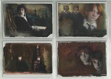 2006 Harry Potter Memorable Moments: Series 1 BOX TOPPER Set of 4 (BT1-BT4)