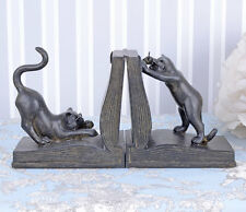 ANIMAL SERRE-LIVRES CHATS FIGURINES CHATON SERRE-LIVRE FIGURINE CHAT Support