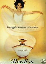 Publicité advertising 1995 Parfum Anouchka Revillon Pietragalla