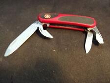 Vtg Wenger Military Evogrip Multi Army Folding Pocket Knife