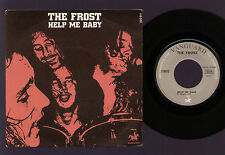 "7"" THE FROST HELP ME BABY / BLACK TRAIN 1969 MADE IN FRANCE VANGUARD DICK WAGNER"