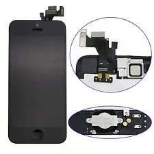 A+ For iPhone 5 LCD Display Touch Screen Digitizer Frame Camera Button Installed
