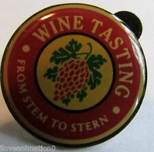 Disney Cruise Line Wine Tasting Stem to Stern DCL Pin
