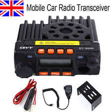 UK Stock QYT KT-8900 Mini Dual Band 136-174/400-480Mhz Car Radio 25W Transceiver