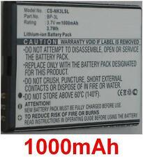 Batterie Pour NOKIA 303, 603, Lumia 710, Asha 303, Sabre, BP-3L **1000mAh**