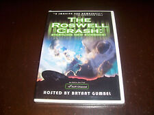 THE ROSWELL CRASH New Evidence SciFi Channel New Mexico Alien Crash 1947 DVD NEW