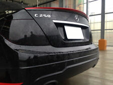 Carbon + Red line D type Trunk Spoiler for BENZ W204 4D C250 C300 REAR BOOT