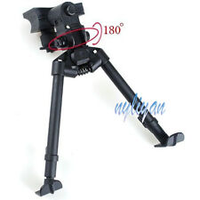 "Metal Adjustable 6""-9"" Legs 180 Degree Bipod Extensions For Rifle Scope Hunting"
