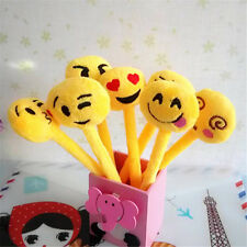 5 Cute Cartoon Ball Point Pen Ballpoint emoji Stationery Student school Office