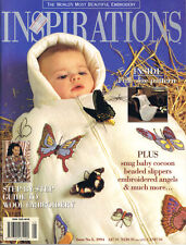 INSPIRATIONS MAGAZINE issue 5 PATTERNS ATTACHED