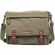 Kelly Moore Bag Kate Sand Canvas Messenger