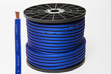 4 GAUGE 25MM² BLUE POWER CABLE AUDIO PER METRE HIGH QUALITY OVERSIZED